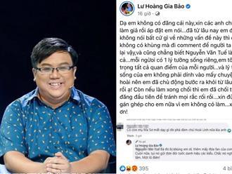 Lư Hoàng Gia Bảo đính chính về tin chửi bà Phương Hằng thậm tệ trên mạng: 'Em đã chủ động bước ra khỏi mấy chuyện này từ lâu nay'