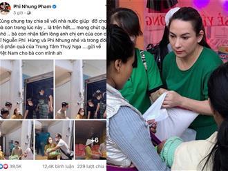 Lùm xùm 'ỉm' 2 đợt cứu trợ chưa 'ra ngô ra khoai', Phi Nhung tung ảnh hành thiện khiến dân mạng khó hiểu