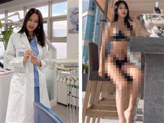 Hậu ly hôn, nữ nha sĩ 52 tuổi khoe body bốc lửa trong bộ bikini 'mỏng hơn cọng chỉ' khiến cánh mày râu choáng váng