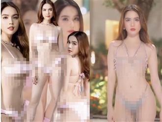 Hốt hoảng với bộ sưu tập bikini 'bé xíu' của Ngọc Trinh, có bộ mặc như không mặc khiến fan 'đỏ mặt'