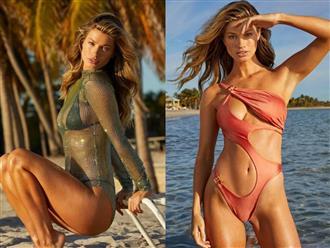 Thả dáng ngọc trong bikini 'lấp ló' vòng 1, nữ y tá tuyến đầu chống COVID-19 khiến fan 'hú hét'