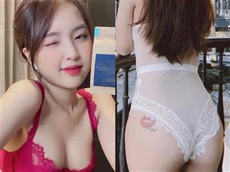 Hot girl Lê Phương Anh khoe hình xăm ngay chỗ 'hiểm', ẩn ý chờ ai trên MXH?