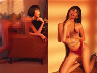 Choáng váng với BST bikini 'mỏng như chỉ' của Ngọc Trinh, tư thế 'vô đối' khiến các chàng 'nổ đom đóm' mắt