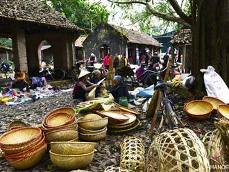 Đi chợ tết - nét đẹp trong văn hóa ngày tết người Việt