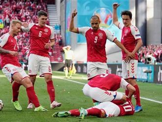 SỐC: Siêu sao bóng đá Đan Mạch Eriksen đột quỵ, ngã gục ngay trong trận đấu với Phần Lan