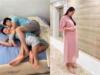 Gần ngày lên bàn đẻ, Lê Phương tiết lộ sự trùng hợp khó tin ở 2 lần sinh con