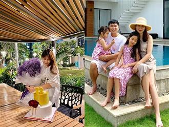 Sau ồn ào ly hôn, Lưu Hương Giang đón sinh nhật bình dị, không thấy bóng dáng Hồ Hoài Anh