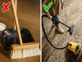 10 sai lầm khi dọn dẹp nhà cửa gây hại cho sức khỏe