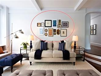3 vị trí không được treo ảnh gia đình và cách khắc phục nếu bạn đang treo sai phong thủy