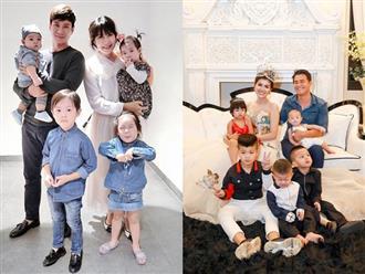 """4 gia đình """"đông con nhiều của"""" nhất showbiz Việt"""