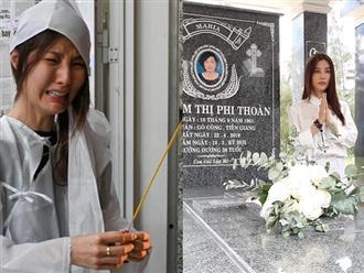 49 ngày mẹ mất, Diễm My nức nở: 'Mất 30 năm nữa để tập làm quen với sự cô độc mồ côi mẹ'