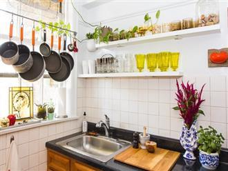 5 bước để biến phòng bếp của bạn sau Tết gọn gàng, tinh tươm