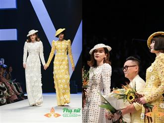 Sau ồn ào nghỉ chơi, Hà Hồ và Thanh Hằng khiến fan 'bùng nổ' khi nắm tay nhau làm vedette show Công Trí