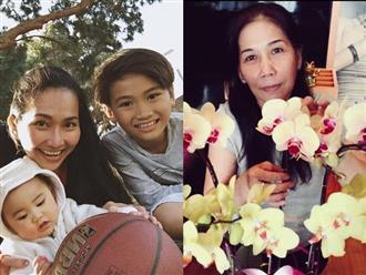 6 năm theo chồng sang Mỹ, 'Út Ráng' Kim Hiền bật khóc cả trong giấc ngủ vì nhớ mẹ