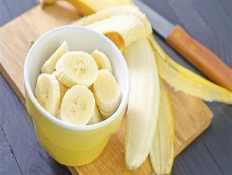 """7 lợi ích """"vàng"""" của việc ăn 2 trái chuối mỗi ngày"""