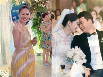 Sau 6 tháng kết hôn, Á hậu Thanh Tú đã sinh con cho chồng đại gia