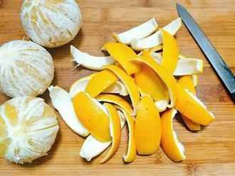 Ăn cam đừng vội vứt vỏ đi, sấy khô cho vào ruột gối bạn sẽ nhận được 4 tác dụng kì diệu