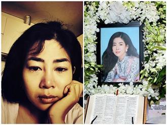 Bức ảnh Mai Phương với đôi mắt ngấn lệ gây xót xa, câu chuyện phía sau khiến ai cũng quặn lòng