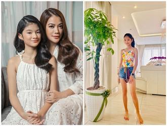Ảnh mới nhất của con gái Trương Ngọc Ánh, ra dáng mỹ nhân xinh đẹp ở tuổi 12
