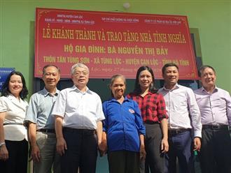 Him Lam Land chung tay trao tặng nhà tình nghĩa cho gia đình liệt sỹ ở Can Lộc, Hà Tĩnh