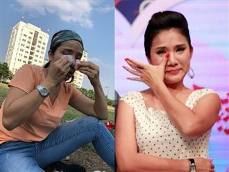 Va chạm mạnh dẫn đến chấn thương khi ghi hình, 'bà mối' Cát Tường khiến fan lo 'sốt vó'