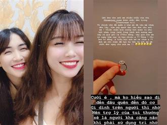 Bạn gái Văn Toàn đăng bán nhẫn kim cương giá 300 triệu vì Hòa Minzy bỏ quên