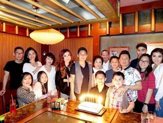 Bằng Kiều và vợ cũ hội ngộ tổ chức sinh nhật cho con trai cả dù muộn vài ngày