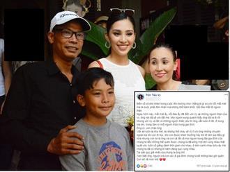 Báo tin ông nội vừa qua đời, Hoa hậu Tiểu Vy rưng rưng viết tâm thư về ông