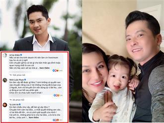 Bất chấp bị chỉ trích, Minh Luân vào tận Facebook vợ cũ Hoàng Anh nhắn nhủ điều 'ruột gan'