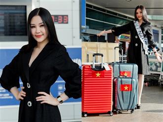 Sau tất cả, Lê Âu Ngân Anh lên đường đi thi Hoa hậu Liên lục địa