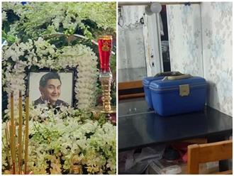 Hé lộ về thùng di vật mà Anh Vũ để lại tại sân khấu kịch trước lúc mất