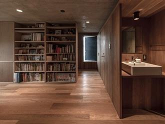 Bất ngờ nội thất tối giản, tinh tế trong căn hộ bê tông