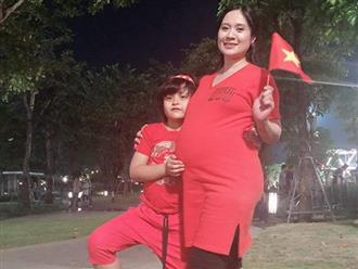 Bầu 7 tháng, Thanh Thúy nhận 'triệu like' nhờ chia sẻ kinh nghiệm 'xương máu' lúc bầu bí