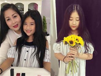 """Bầu lần 3 khi ngoài 40 tuổi, NSND Hồng Vân có được cô con gái xinh tựa """"hotgirl tương lai"""""""