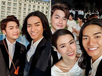 BB Trần chụp ảnh cùng người yêu đồng giới ở lễ cưới Đông Nhi