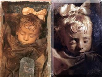 """Bí ẩn xác ướp bé gái xinh xắn được ví như phiên bản thật của """"Công chúa ngủ trong rừng"""", 100 năm tuổi vẫn còn chớp mắt"""