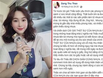"""Bị chỉ trích """"chỉ nói không làm"""", Hoa hậu Đặng Thu Thảo yêu cầu anti-fan bớt soi mói"""