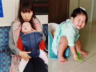 Bị chỉ trích nuôi con 'ác' không nên sinh thêm, Hà Anh nổi cáu đòi 'độp vào mặt' kẻ vô duyên