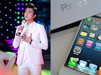 Bị fan tố ăn cắp iPhone 5, Hồ Việt Trung làm ngay hành động bất ngờ này