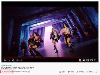 """BLACKPINK xô đổ kỉ lục của BTS, """"How You Like That"""" trở thành MV được xem nhiều nhất 24 giờ đầu trên toàn thế giới!"""