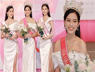 """Bộ ảnh đọ sắc """"nét căng"""" đầu tiên của Top 3 Hoa hậu Việt Nam 2020: Tân Hoa hậu Đỗ Thị Hà bất ngờ bị Á hậu 2 Ngọc Thảo giật spotlight!"""