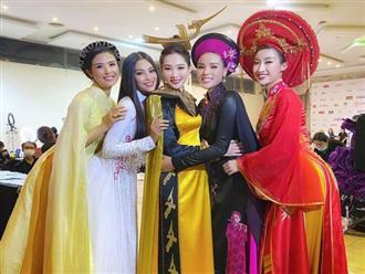 """Bức ảnh hot nhất đêm qua: 5 Hoa hậu của thập kỷ hội tụ chung khung hình, """"thần tiên tỷ tỷ"""" Đặng Thu Thảo lu mờ cả dàn mỹ nhân"""