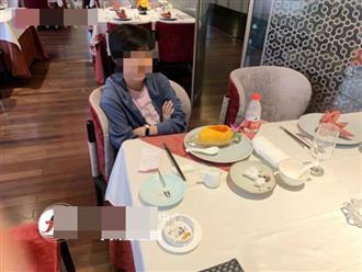 Bước vào nhà hàng gọi sơn hào hải vị, người phụ nữ sau khi ăn xong liền bị chủ nơi đây đưa đến đồn cảnh sát