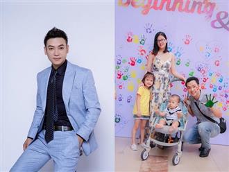 Ca sĩ Duy Khoa: 'Cuộc sống gia đình hạnh phúc, vợ chồng tôi đã có 2 con - một gái, một trai'