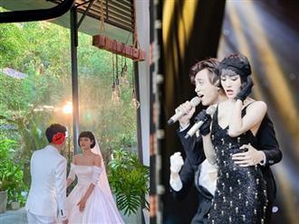 Ca sĩ Hiền Hồ tung ảnh cưới nhưng vẫn quyết định giấu mặt chú rể