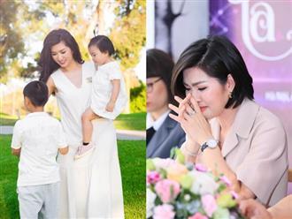 Sau 4 năm chung sống, Nguyễn Hồng Nhung chia tay chồng thứ 2 và một mình nuôi 2 con