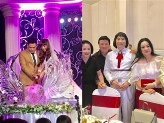 Các danh ca cải lương nổi tiếng đến dự đám cưới con trai cố nghệ sĩ Thanh Sang