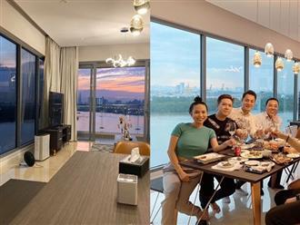 Cận cảnh căn hộ 3 mặt sông giá triệu đô của Lê Hiếu