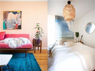 Căn hộ nhỏ 37m² sử dụng những màu sắc đáng kinh ngạc trong trang trí nội thất