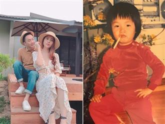 Cận kề ngày cưới, Đàm Thu Trang gây bão mạng khi khoe ảnh Cường Đô la 'chất chơi' từ bé